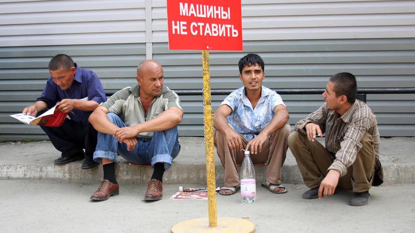 Количество мигрантов в российской торговле уменьшится