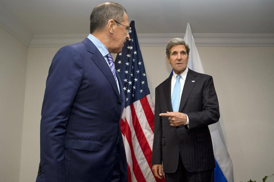 СМИ: Переговоры Лаврова и Керри по «Женеве-2» закончились ничем