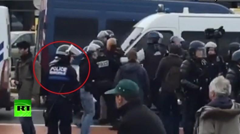 Профсоюз полиции Кале обратится в суд, узнав о нарушениях из видео RT