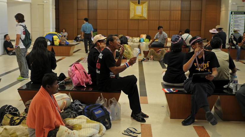 Протесты в Таиланде вышли за пределы Бангкока