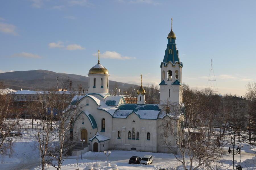 В результате стрельбы в храме в Южно-Сахалинске погибли два человека