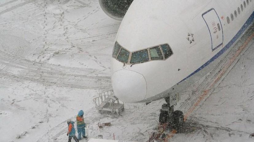 Сильнейший снегопад в Японии: семь погибших, более тысячи пострадавших