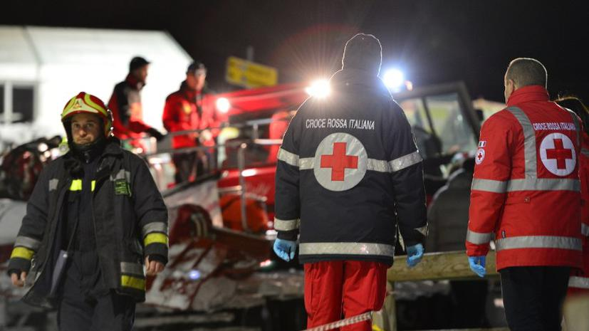 Шесть россиян разбились насмерть в итальянских Альпах