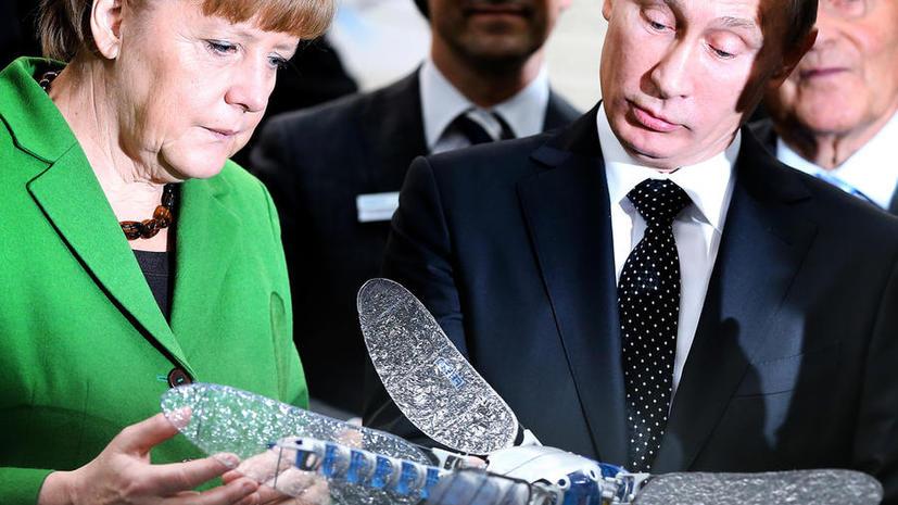 ARD: немецкий бизнес заинтересован в деньгах из России