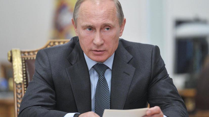Владимир Путин назвал причины задержек с поставками оружия флоту