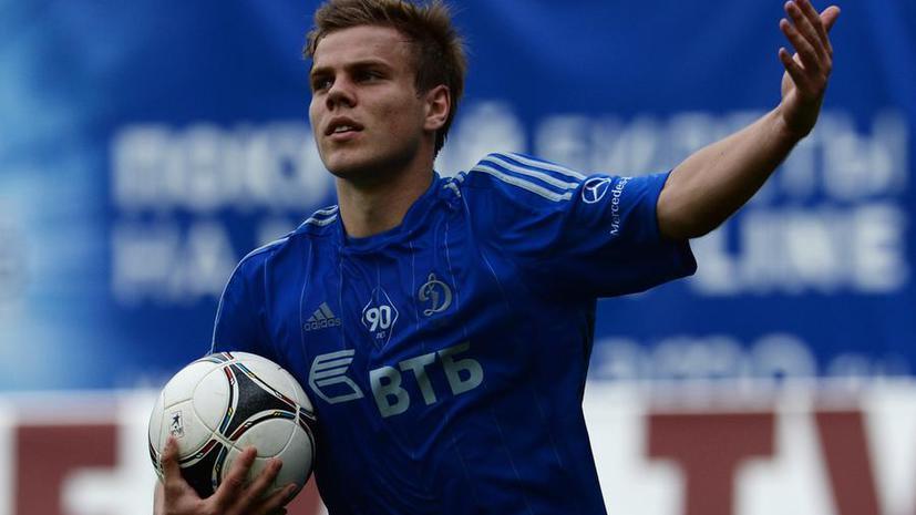 Нападающего московского «Динамо» Кокорина дисквалифицировали на семь матчей