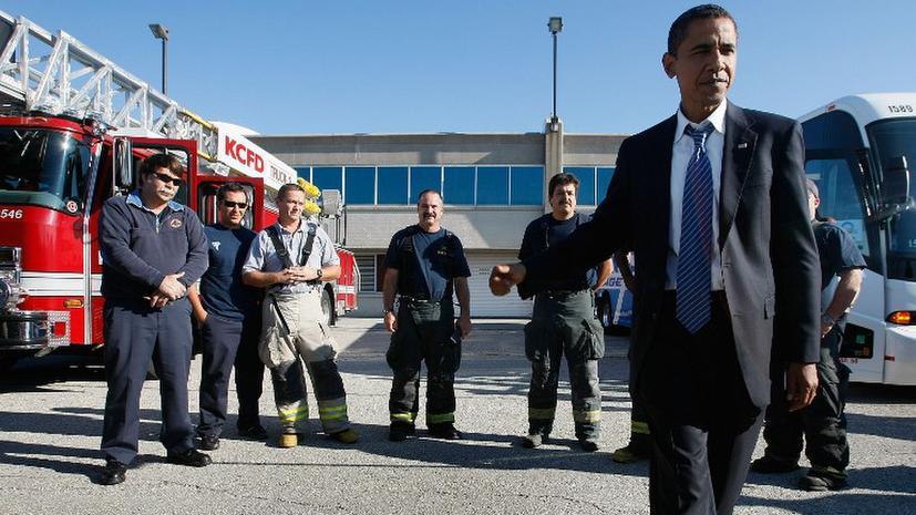 Американские пожарные мучаются из-за нехватки мыла и туалетной бумаги