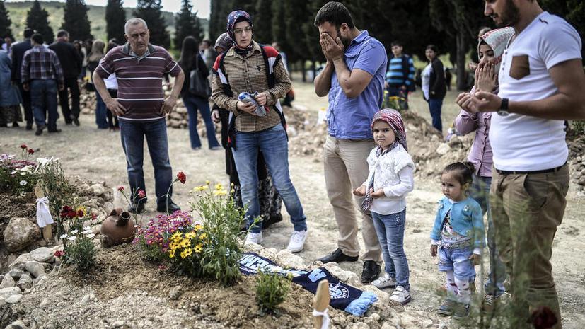 Число погибших в угольной шахте в Турции превысило 300 человек