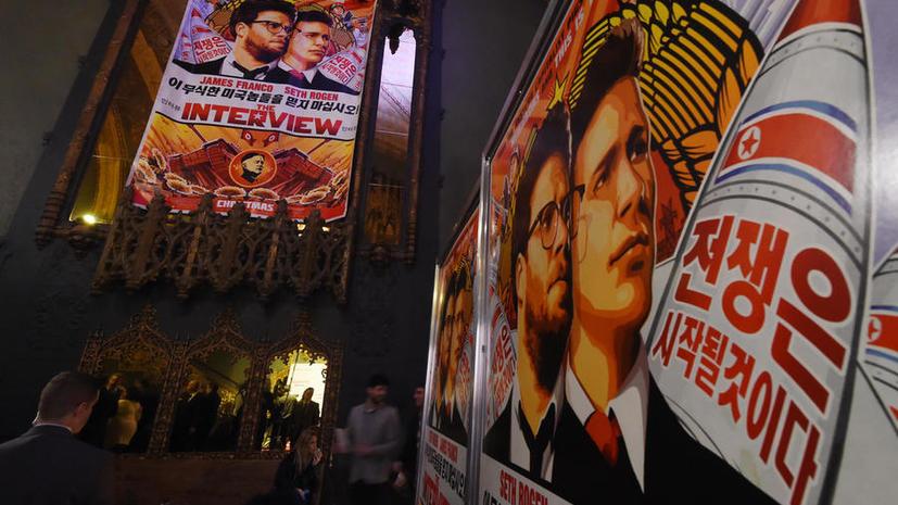 Неизвестные хакеры грозят терактами в день премьеры скандального фильма «Интервью»