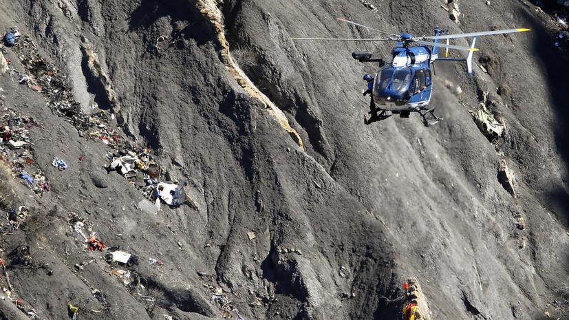 Расследование крушения А320 назвали в Германии крупнейшей операцией за последние десятилетия