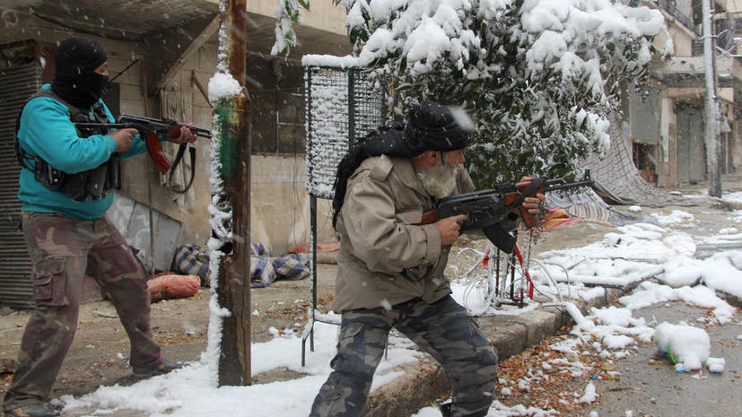 Боевики захватили город Адра близ Дамаска и учинили там резню