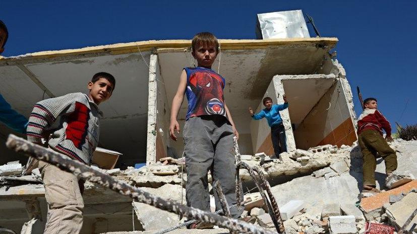 Сирийские повстанцы превращают детей в «машины для убийств»