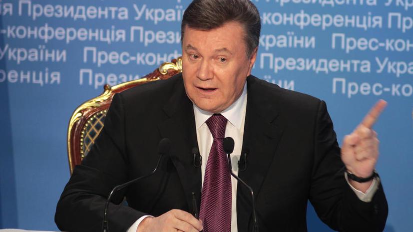 Генпрокурор РФ: Виктор Янукович - полноценный легитимный президент