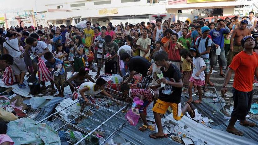 МЧС России отправило на Филиппины спасателей и врачей для оказания помощи пострадавшим от тайфуна
