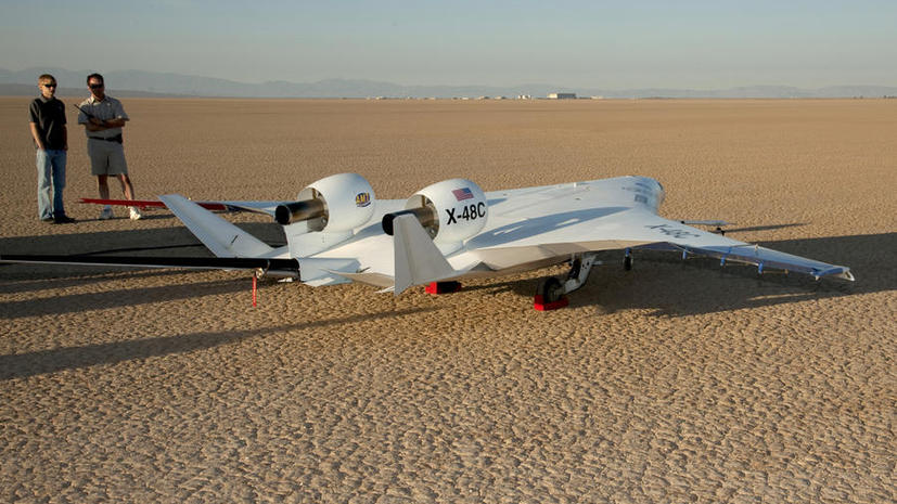 NASA завершило 8-месячные испытания дрона Boeing X-48C