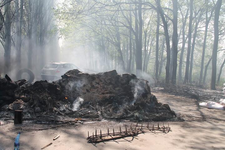 Украинская армия проводит военную операцию против востока страны