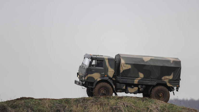 Военнослужащие получат КамАЗы с ноутбуками для видеосвязи с Сергеем Шойгу