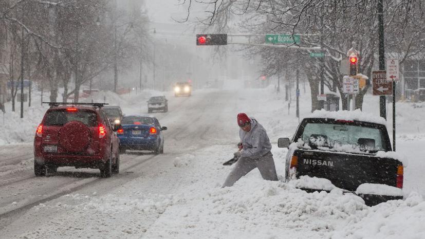 Снежный торнадо может испортить американцам Рождество