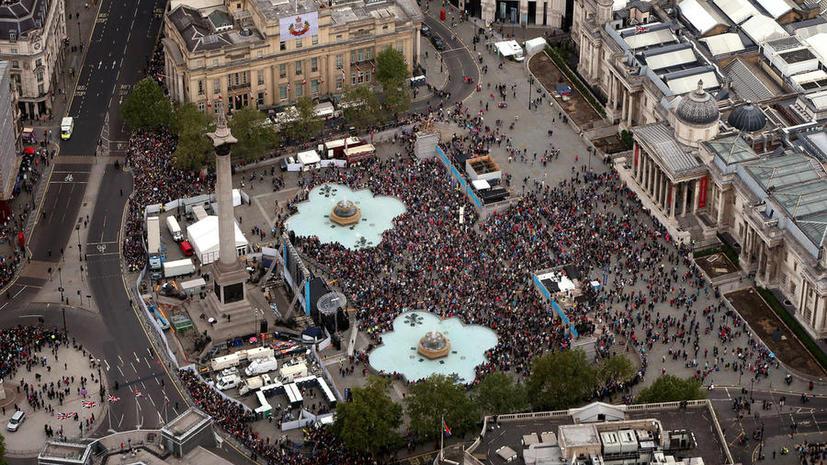 Британские экстремисты пообещали проводить казни на Трафальгарской площади