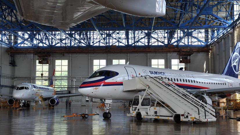 На доработку Sukhoi Superjet 100 потратят 4,3 млрд рублей