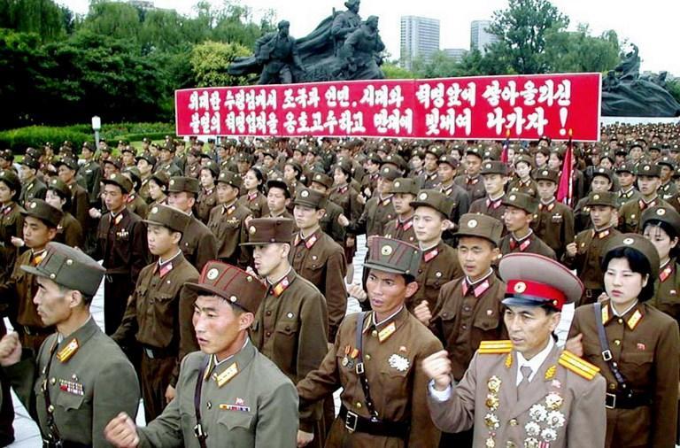 На Корейский полуостров пришла война