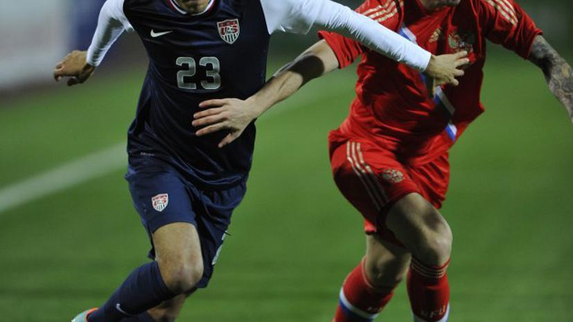 Россия и США сыграли вничью в товарищеском матче