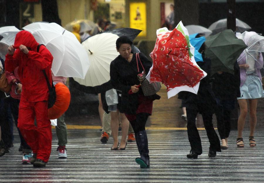 Тайфун в Японии: более 325 тыс. семей эвакуированы в центральной части страны