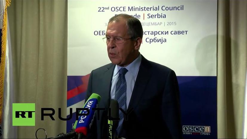 Сергей Лавров об обвинениях Турции в причастности РФ к покупке нефти у ИГ: На воре и шапка горит