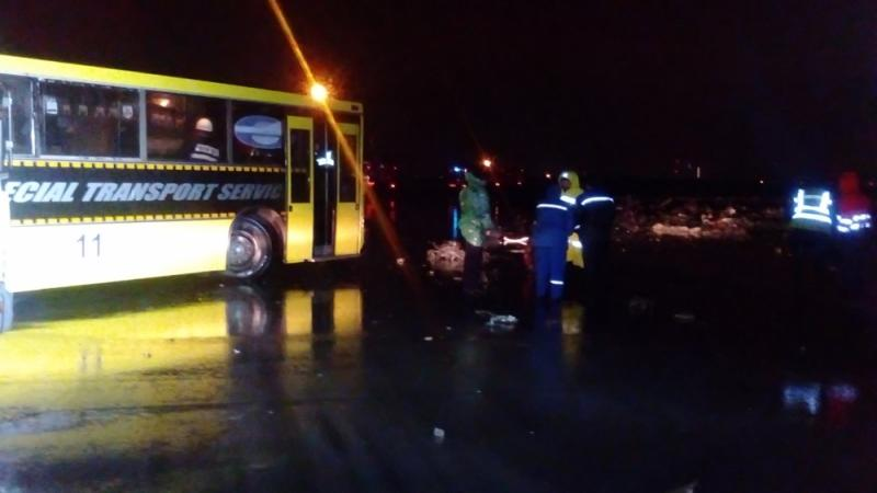 Boeing упал при посадке в аэропорту Ростова-на-Дону, все пассажиры погибли