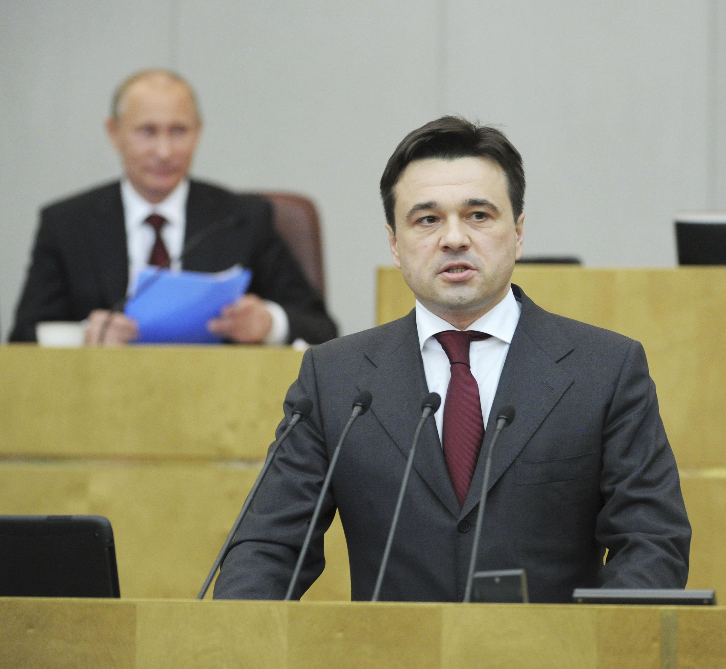 Единоросс Андрей Воробьев временно возглавил Подмосковье