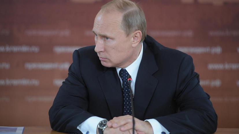 Президент поручил МИД РФ ответить Киеву на нарушение российской границы украинскими военными