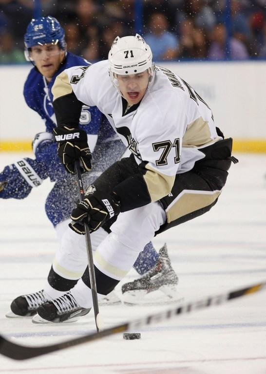 Уик-энд в НХЛ: журналисты признали Евгения Малкина «первой звездой» игрового дня