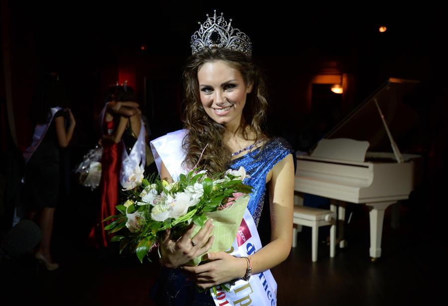 Студентка МГУ Дарья Ульянова стала «Мисс Москва-2013»