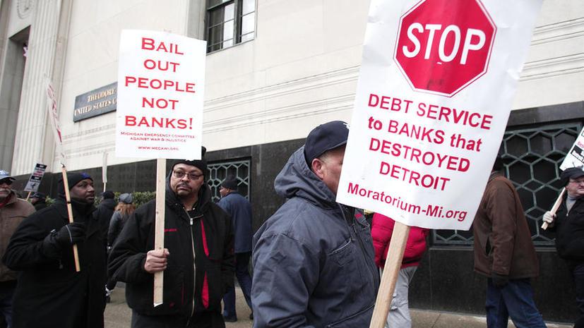 Суд Детройта признал автомобильную столицу США банкротом