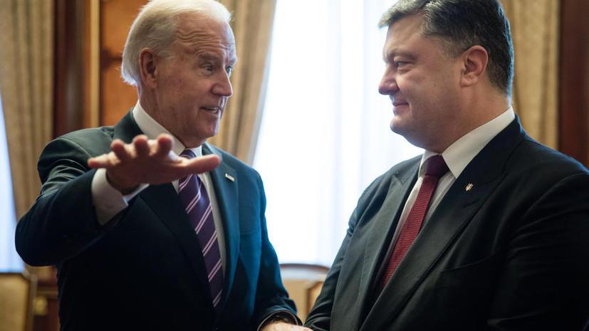 СМИ: «Проект Украина» ставит под угрозу репутацию Барака Обамы