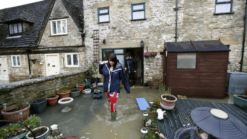 Британию затопили «рождественские» ливни