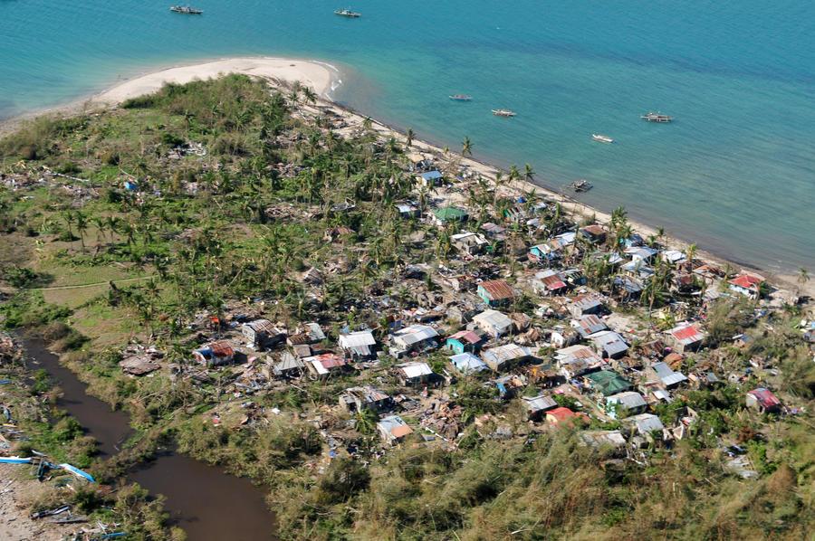Красный Крест: в результате удара стихии на Филиппинах могли погибнуть более 1200 человек