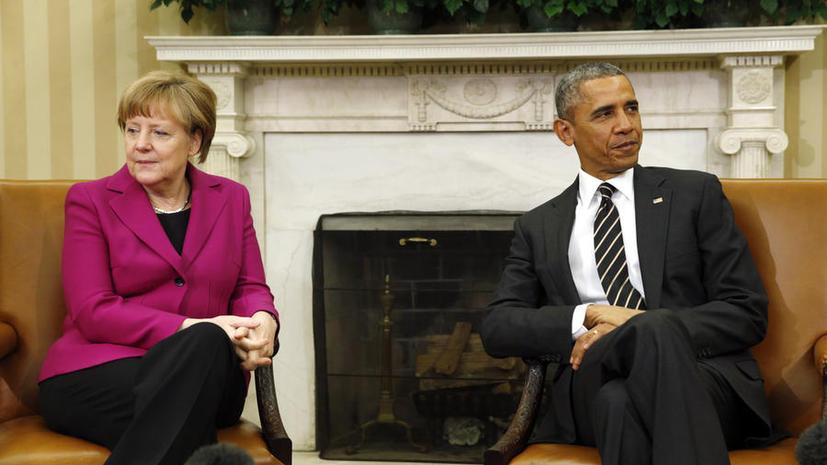 Ангела Меркель отговорила Барака Обаму от поставок оружия на Украину