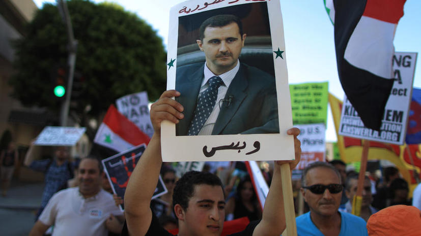 Башар Асад: США должны представить доказательства моей причастности к химатаке