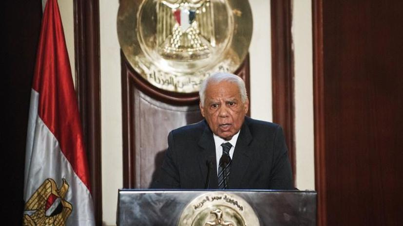 Правительство Египта ушло в отставку