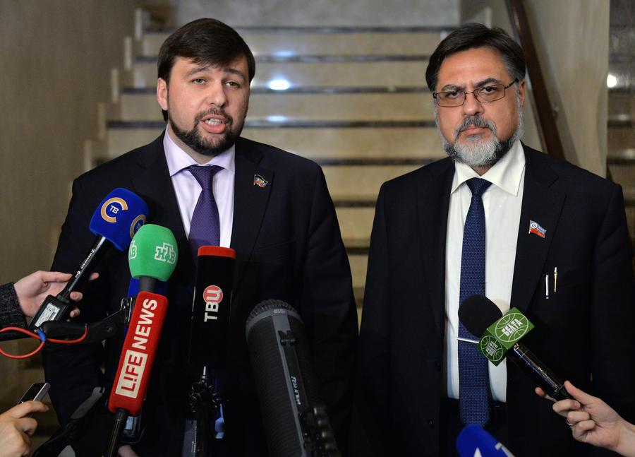 Денис Пушилин: Пётр Порошенко заботится о своём будущем в вопросе о статусе Януковича