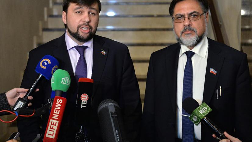 ДНР и ЛНР выразили готовность соблюдать Минские соглашения в одностороннем порядке