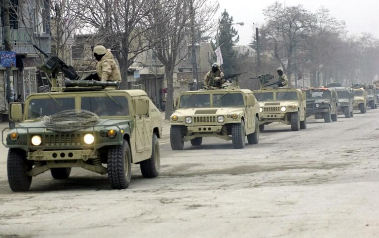 Трое солдат коалиционных войск застрелены в Афганистане