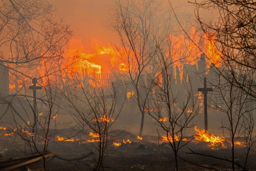 Все пожары в Хакасии потушены, погибли 15 человек, один пропал без вести, 483 пострадали