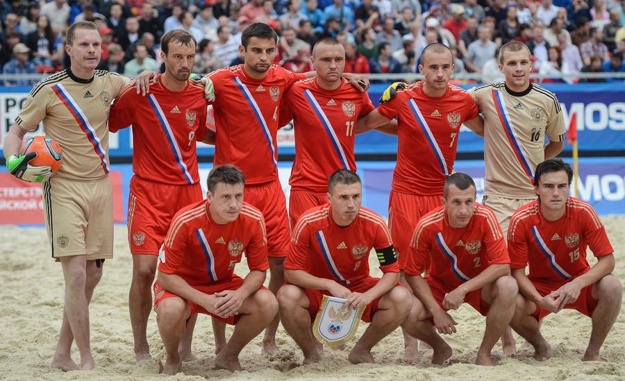Сборная России по пляжному футболу пробилась в финал Чемпионата мира