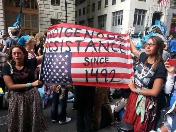 #FloodWallStreet: экоактивисты устроили акцию протеста в Нью-Йорке