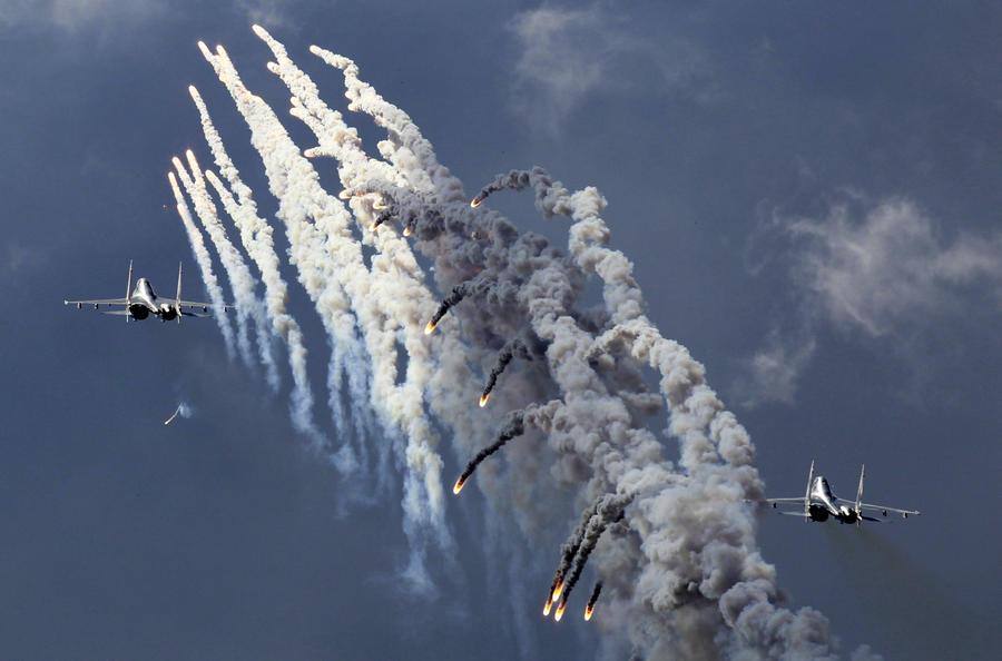 СМИ: Индийцы на Су-30 утёрли нос британским Typhoon