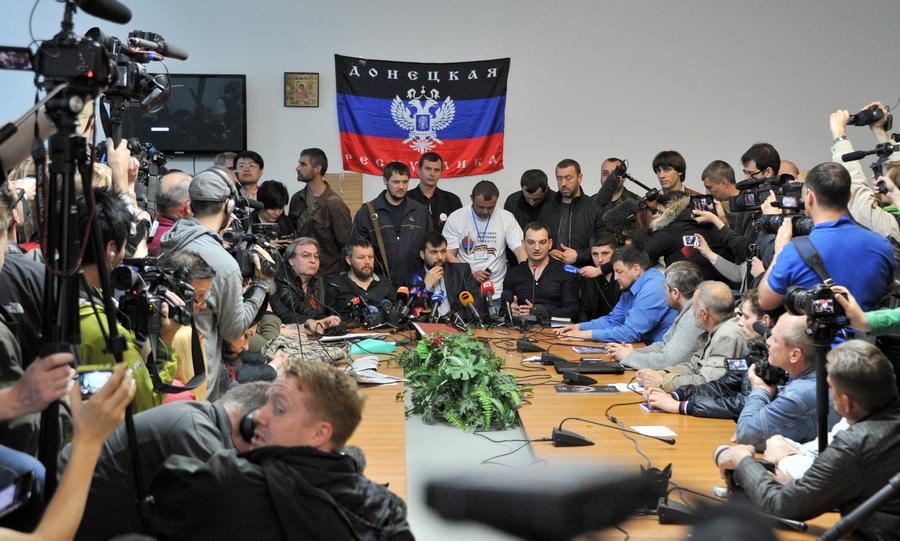 На организацию референдума в Донецке потрачено $2 тыс.