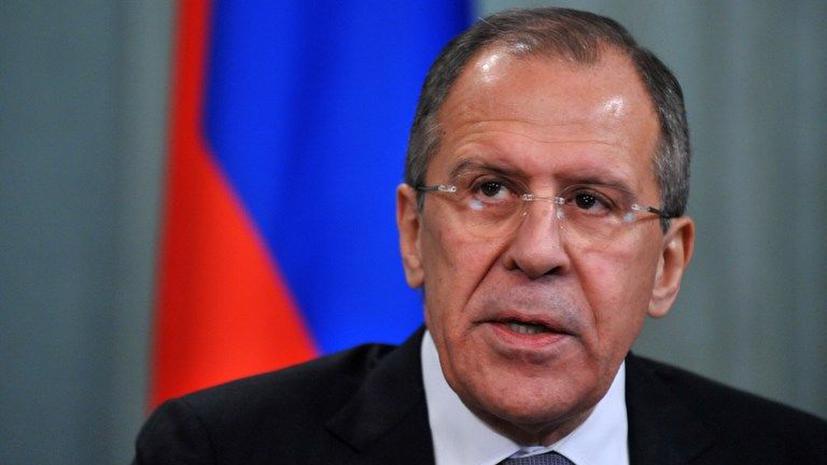 Сергей Лавров: Необходим единый подход к ситуации на Ближнем Востоке