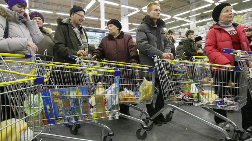 На Украине скупают импортные товары из-за падения курса гривны